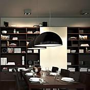 Lámparas Colgantes ,  Moderno / Contemporáneo Cuenco Pintura Característica for Mini Estilo Metal Sala de estar Dormitorio Comedor Hall