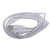 USB Micro USB Data / nabíjecí Woven Mesh Nylon kabel pro Samsung / HTC / Nokia (200 cm)
