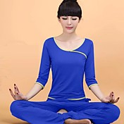 Yoga Sets de Prendas/Trajes Secado rápido Ropa deportiva MujerYoga / Pilates / Fitness / Deportes recreativos