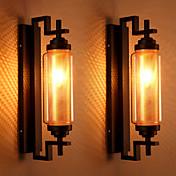 AC 100-240 40 E12/E14 Tradicional/ Clásico Pintura Característica for Mini Estilo,Luz Ambiente Candelabro de pared Luz de pared
