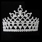 Mujer Diamantes Sintéticos Aleación Celada-Boda Tiaras Bandas de cabeza 1 Pieza