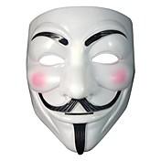 Máscara de Guy fawkes accesorio del traje de adultos de disfraces de Halloween