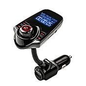 iphone /サムスンLGのスマートフォン用のリモコン付きagetunr FMトランスミッタのBluetoothハンズフリーカーキットmp3音楽プレーヤーラジオアダプタ