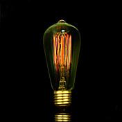 BofA ST58 e27 arte Edison fuente de luz de tungsteno deco 25w (85v-265v)