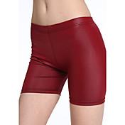 Mujer Tiro Medio Inelástica Vaqueros Pantalones Un Color