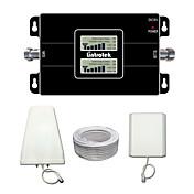pantalla LCD lintratek 3g 900 2100 teléfonos celulares de banda dual repetidor de señal de refuerzo para MTS / Tele2 / megafon / Vodafone