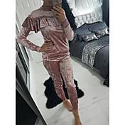 europa a aliexpress Ebay Amazon modelos de mujer traje de mampostería de hoja de loto collar de la pista de terciopelo de alta calidad