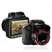 3.0 pulgadas cámara grabadora coche detector de radar DVR coche 1080p hd rociada leva g-sensor de vídeo registrator tacógrafo