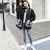 Las mujeres japonesas nueva primavera 2017 abrigo suelto coreano estudiante harajuku bf viento salvaje marea viva de la chaqueta