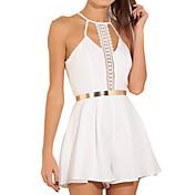 vestido de encaje con cuello en V gasa caliente estilo salvaje 2016 a aliexpress