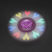 Fidget spinners Hilandero de mano Juguetes Tri-Spinner Spinner LED EDC Alivio del estrés y la ansiedad Juguetes de oficina Por matar el