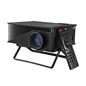 LCD WVGA (800x480) Proyector,LED 1200 Mini Portable Proyector