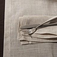 """18 """"x18"""" moderni tyyli pellavaa neliö lautasliinat"""