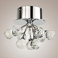 Uppoasennus ,  Moderni Kromi Ominaisuus for Kristalli Minityyli Metalli Living Room Makuuhuone Ruokailuhuone