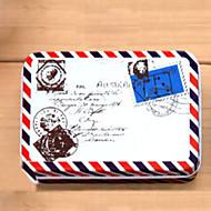 Suorakulmio Kirjekuori Pattern Tin Box