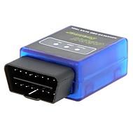 Mini v1.5 portátil elm327 obd2 / obdii sem fio ferramenta de diagnóstico escanear carro