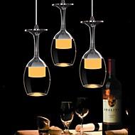 Závěsná světla ,  moderní - současný design Tradiční klasika Mísa Země Pochromovaný vlastnost for LED Sklo Obývací pokoj Ložnice Jídelna
