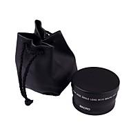 makro laajakulmaobjektiivi 0.45x 58mm Canon EOS 350D / 400D / 450D / 500D / 1000D / 550D / 600D / 1100D vähittäiskaupan ruutuun