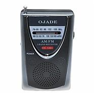 OJADE OE-1201 mini kannettava AM / FM 2-Band Radio
