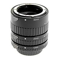 alumiiniseos 3-osainen makro jatkoputki setti Nikon (hopea)