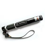 lt-301 ter afsluitbare groene laser pointer (1 mW, 532nm, 1x18650, zwart)