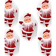 """5шт 4,3 """"Рождественская елка висит украшение Дед Мороз кукла"""