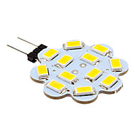 2W G4 LED Bi-pin Lights 12 SMD 5630 250 lm Warm White / Cool White DC 12 V 10 pcs