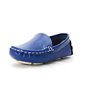 Poikien Tyttöjen kengät Nahka Synteettinen Kevät Kesä Syksy Mokkasiinit Veneilykengät Käyttötarkoitus Kausaliteetti Musta Valkoinen