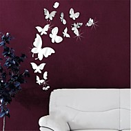 Animals 3D Wall Stickers Mirror Wall Stickers Decorative Wall Stickers,Vinyl Material Removable Home Decoration Wall Decal