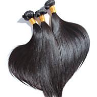 3 szt / wiele wysokiej jakości brazylijski proste włosy, nie rzuca, nie plątanina 100% ludzki włos dziewicy nieprzetworzona