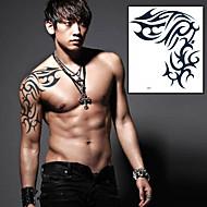 1 Tatuagens Adesivas Séries Totem Outros não tóxica Lombar Á Prova d'águaCriança Feminino Masculino Adulto Adolescente Flash do tatuagem