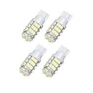 lorcoo ™ 4ks 42smd T15 12v vedl náhradní žárovky + samolepky 921 912 906 (bílá)