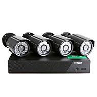 Домашняя видео система безопасности, CCTV 4CH 960H HDMI DVR 700TVL