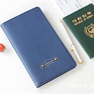 Unissex Chifon Formal / Uso Profissional / Compras Porta Cheques Rosa / Azul / Laranja / Vermelho