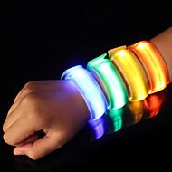 LED Running Armband Reflective Band Reflective Belt High Visibility Safety for Camping/Hiking/Caving Cycling/Bike Running-