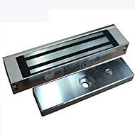 utenpåliggende enkel dør elektromagnetisk lås med lys 180kg adgangskontroll