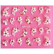 1 Nail Art matrica Absztrakt smink Kozmetika Nail Art Design