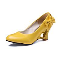 Ženske cipele - Salonke / štikle - Vjenčanje / Ured i karijera / Formalne prilike / Zabava i večer - Umjetna koža - Puna potpetica -