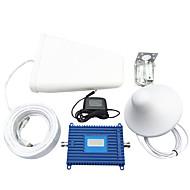Rappel 3g de mobile fixe 70dbi gain de répéteur de signal WCDMA 2100MHz téléphone mobile amplificateur de signal avec affichage LCD