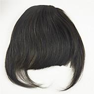 100% de cheveux humains Bangs style mignon