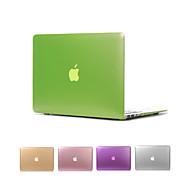 """fosco metal cor da tampa do caso de corpo inteiro para o MacBook Air 11 """"pro 13"""" / 15 """""""