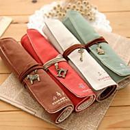 Penaalit-Textile-Cute / Liiketoiminta / Monitoimilaitteet-Punainen / Vihreä / Ruskea / Beige-
