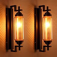 AC 100-240 40 E12/E14 Tradicional/Clássico Pintura Característica for Estilo Mini,Luz Ambiente Lâmpadas de Parede Luz de parede