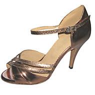 Testreszabott női műbőr felső Salsa Latin tánc cipő