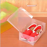 Tárolódobozok Műanyag val velFunkció az Fedett , Mert Cipők / Ruhaanyag