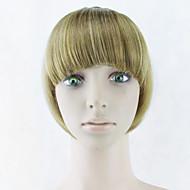 perruque brune 15cm haute température couleur temples de fil 2005