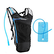 ROSWHEEL® Pyörälaukku 5LNesteytyspakkaus ja -laukku / Backpack Vedenkestävä / Kiinteä vyölaukku / Iskunkestävä / Kestävä / Monitoiminen