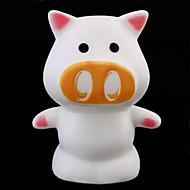 形potrable色変える魔法の豚は、ノベルティランプの夜の光室内照明を導きました