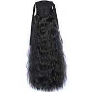 noir dentelle vague profonde perruque maïs ponytails chaudes 2
