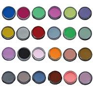 24kpl mix väri kynsien taiteen veistos veistämällä Akryyli
